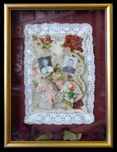3-tiered Valentine from 1913