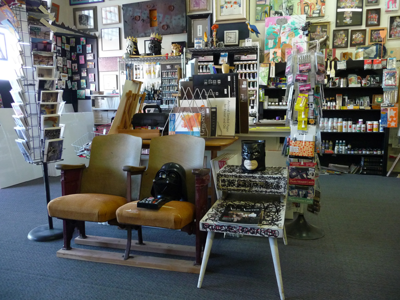 Hot Springs Frame & Art Supply Lounge