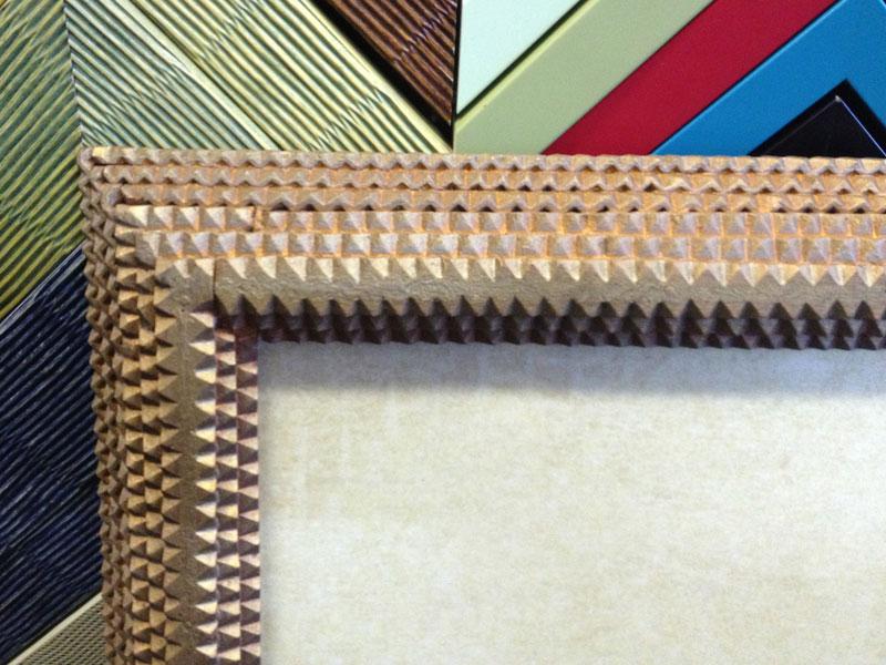 detail of vintage tramp style (?) frame