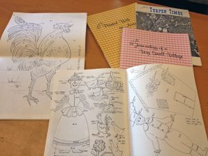 Tole Art books from the 1970s