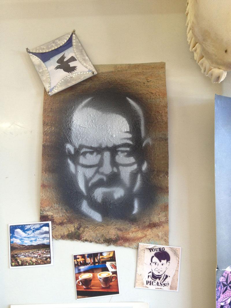 Heisenberg stencil