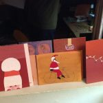 Santas - holiday cards