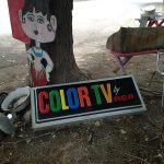 Vintage Color TV Sign - appearing soon at Blackstone Hotsprings