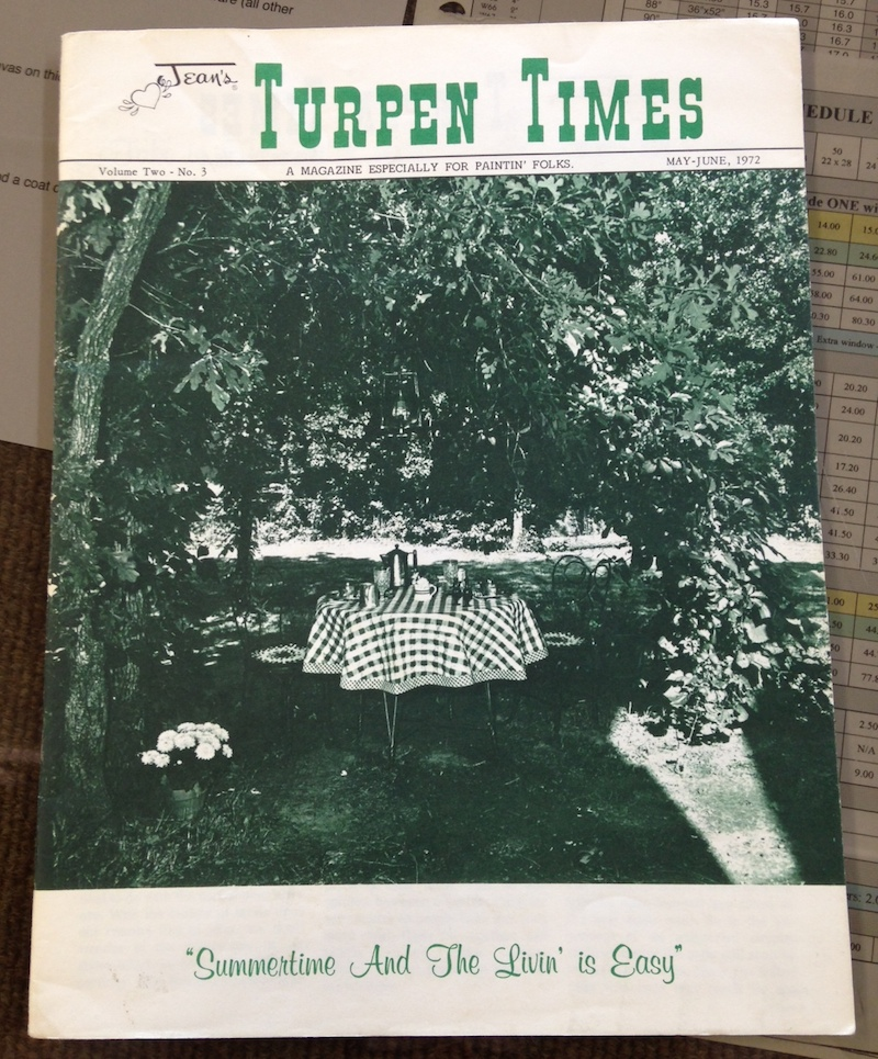 Turpen Times - A Magazine Especially for Paintin' Folks