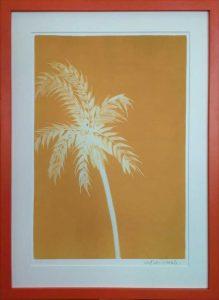 """""""Palm on Ochre"""" by Nolan Winkler"""