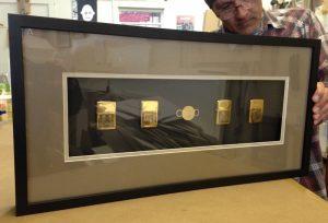 framed zippo lighters