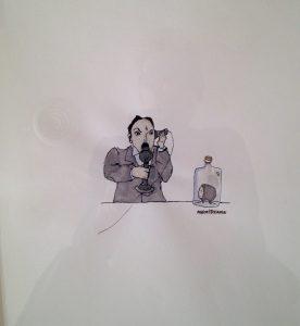 Marcel Dzama drawing