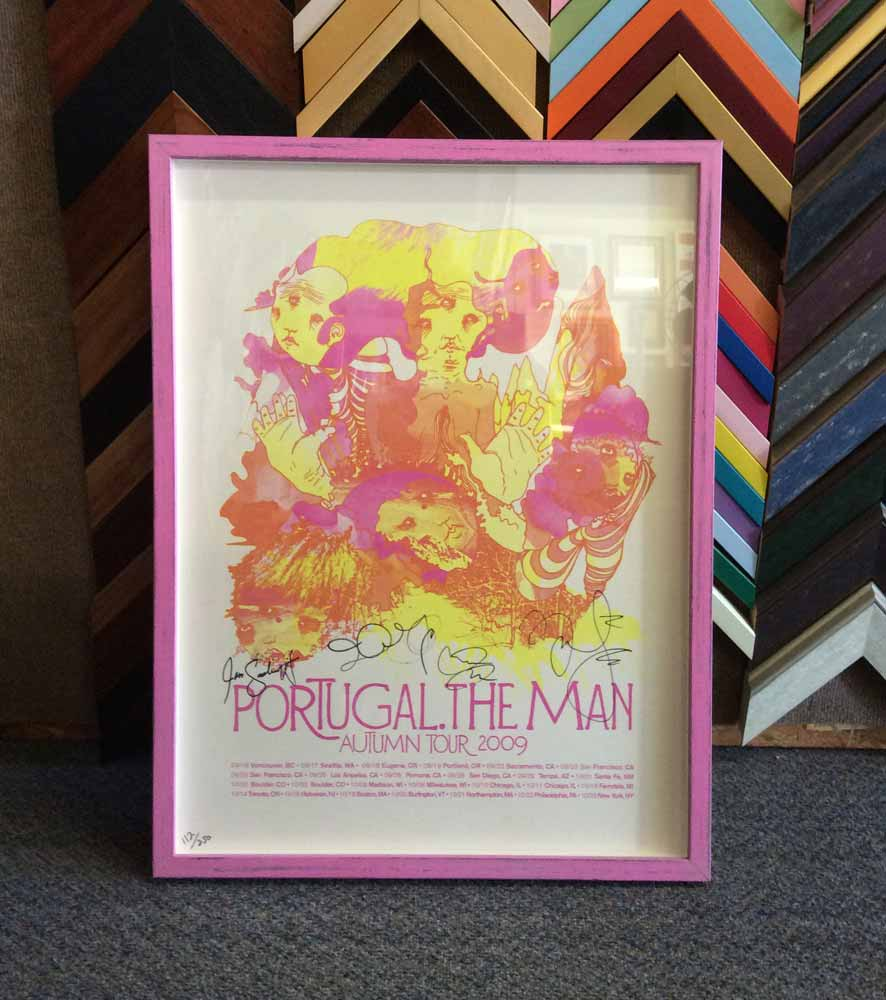 framed poster: Portugal the Man